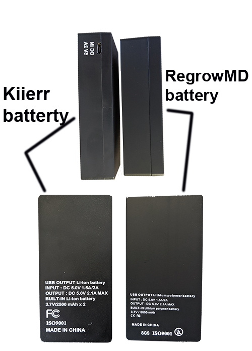 kiierr battery issue