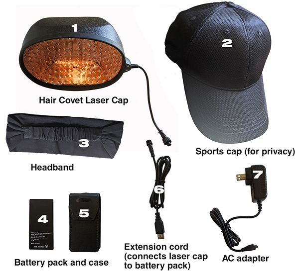 laser cap for hair regrowth