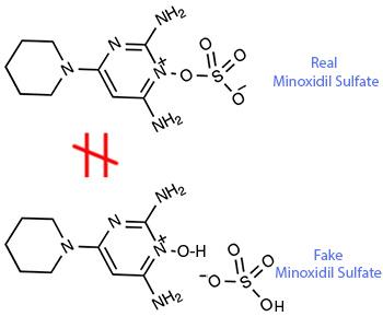 Minoxidil sulfate