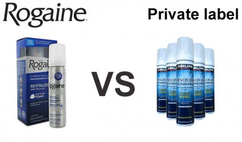 minoxidil 5% foam private label