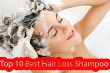 Top 10 Best Hair Loss Shampoos